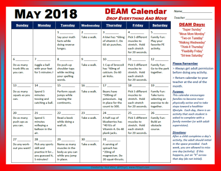 may deam 2018