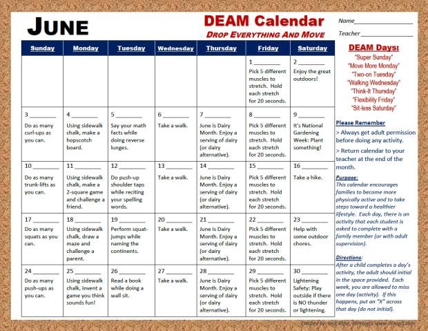 June DEAM '18