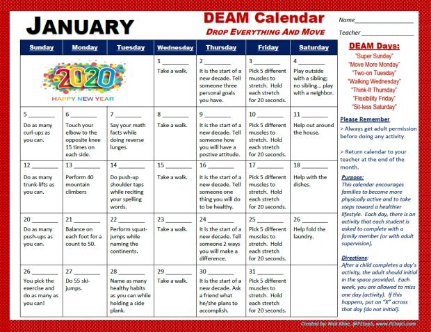 deam jan 2020