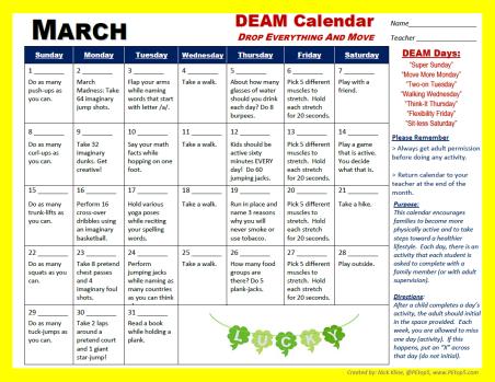 deam march 20